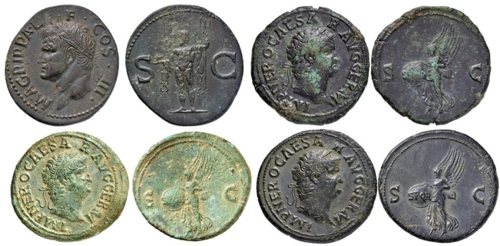 Roman Imperial fakes currently on auction.