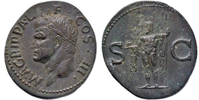 Agrippa As Neptune Hirsch 319-387 Lipanoff