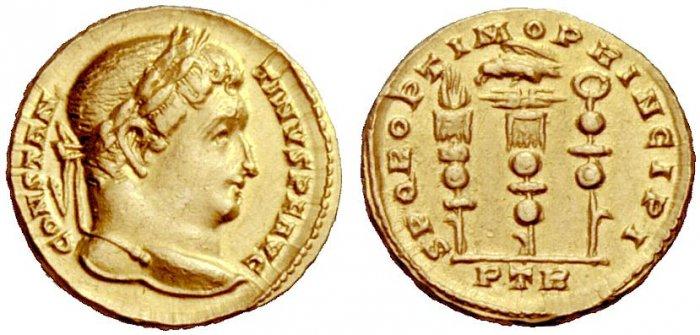 Constantine I solidus RIC 815 Hess Divo 317-915