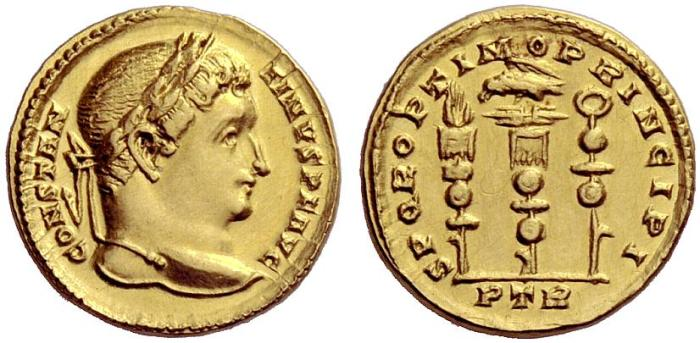 Constantine I solidus RIC 815 NAC 54-613