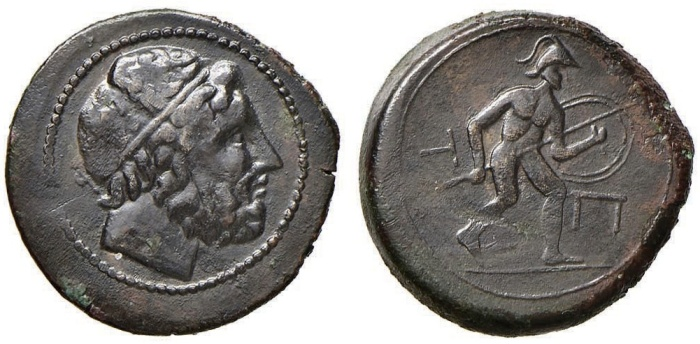 Mamertini Numismatica Felsinea 4-151 ex Emporium Hamburg 72-136